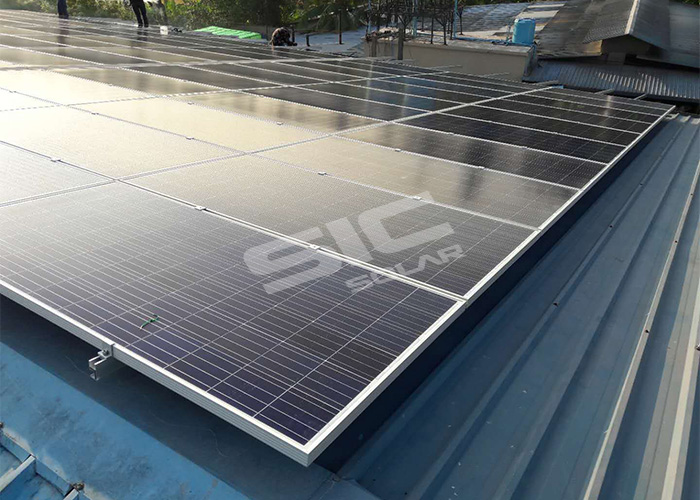 Metal roof pv mounting systems made in china