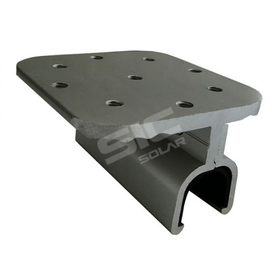 Standing seam metal roof clamps