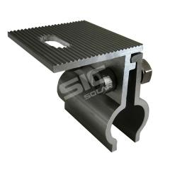 Solar metal roof mounting aluminum clamp